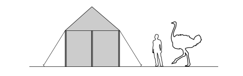 3x3m-Marquee-Elevation