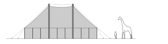 9x13.5m-Marquee-Elevation