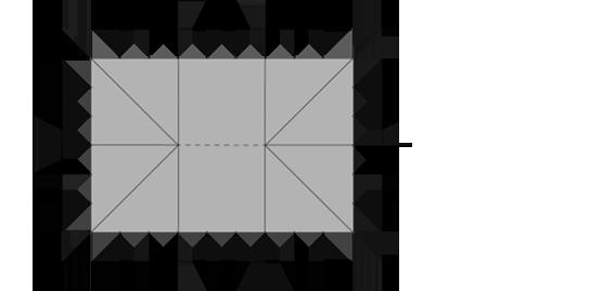 9x13.5m-Marquee-Floor-Plan